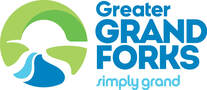 The city of Grand Forks' convention and visitors bureau logo